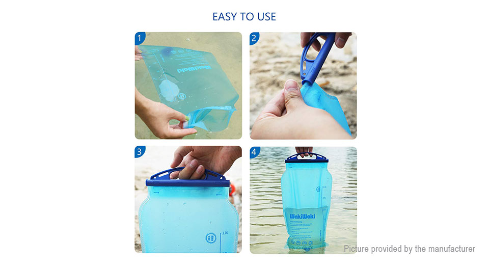 Outdoor Portable 1500L Emergency Water Filter Water Purifier Straw