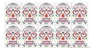 Halloween Cosplay Party Face Sticker Waterproof Temporary Tattoo Sticker (10-Pack)