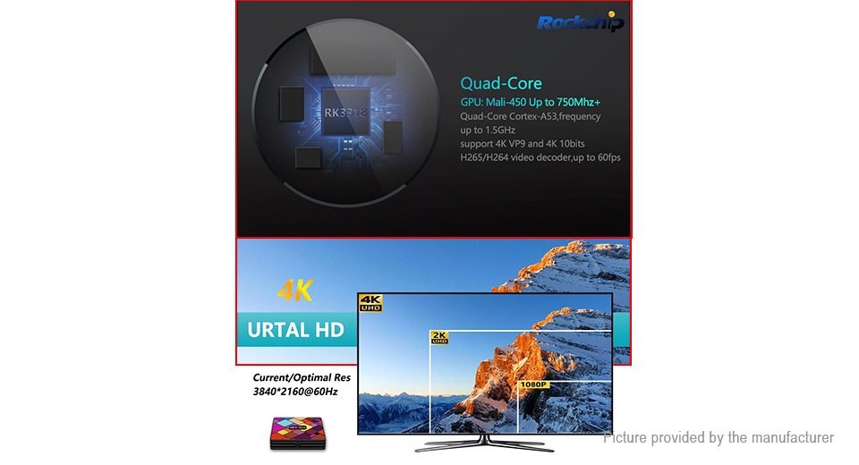 HK1 COOL Quad-Core Pie TV Box (16GB/EU)