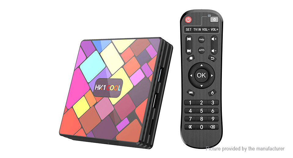 HK1 COOL Quad-Core Pie TV Box (16GB/US)