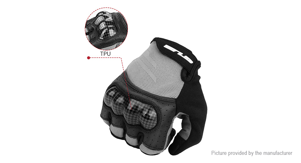GUB S048 Unisex Touch Screen Full Finger Cycling Gloves (Size 2XL)