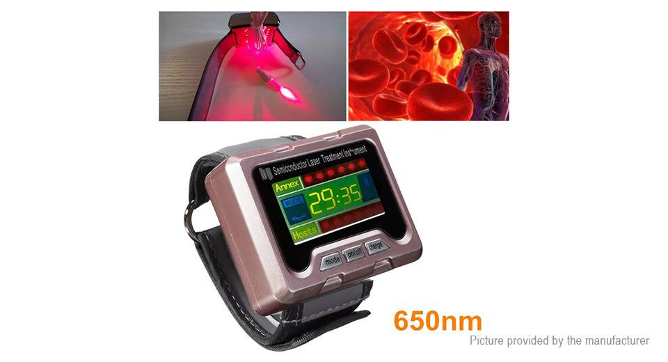 Product Image: 650nm-laser-physiotherapy-wrist-watch-blood