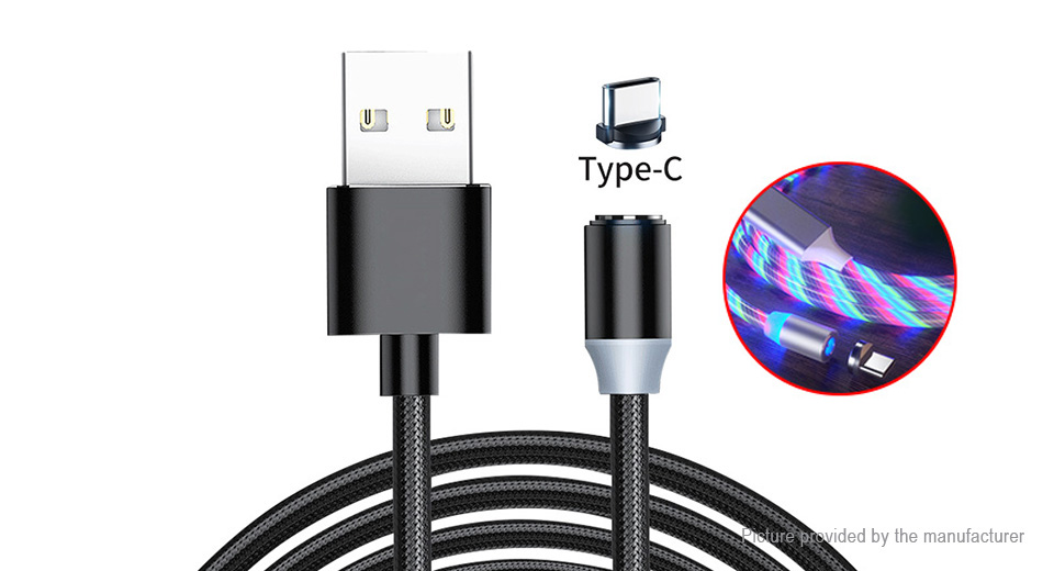 Product Image: usb-c-to-usb-2-0-magnetic-flowing-led-light-up