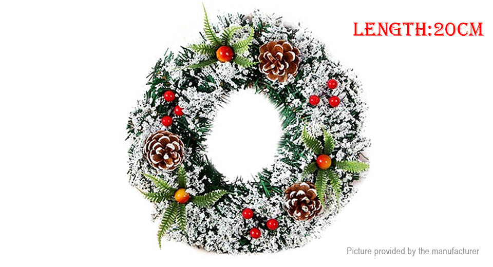 Product Image: 20cm-hand-made-christmas-wreath-door-wall