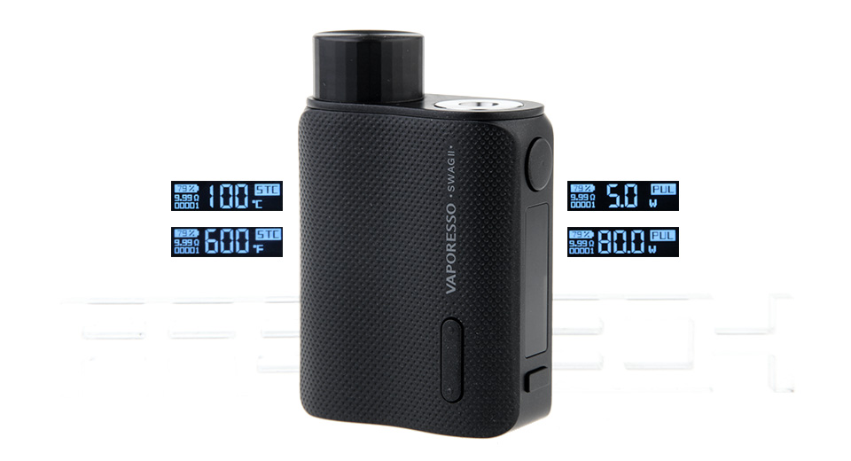 Product Image: authentic-vaporesso-swag-ii-80w-vw-apv-box-mod