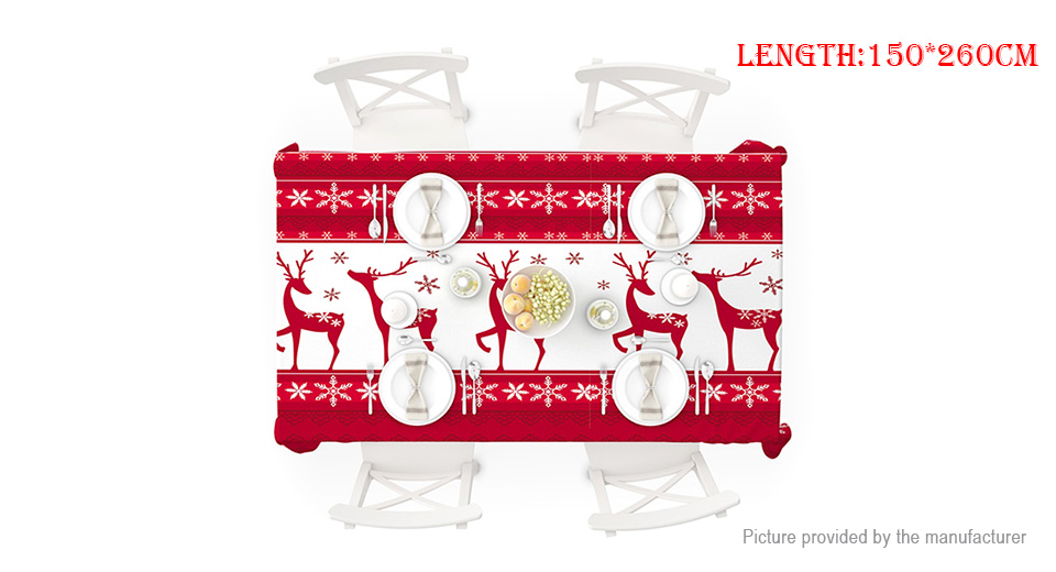 Product Image: elk-deer-styled-decorative-desk-cover-christmas