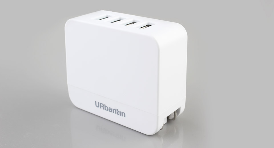 Product Image: urbantin-4-port-wall-usb-charger-power-adapter-eu
