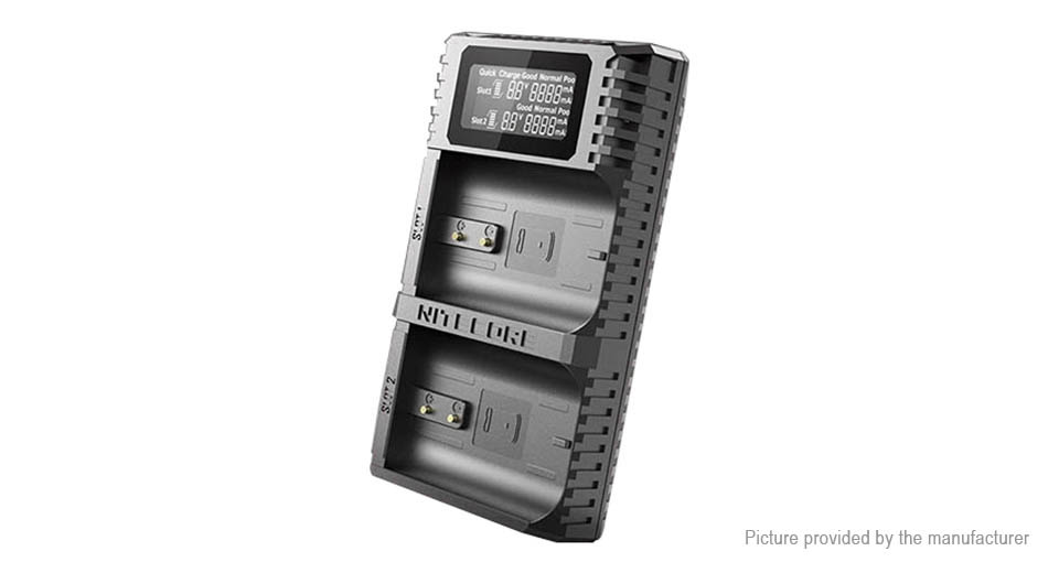 Product Image: authentic-nitecore-2-slot-digital-battery-charger