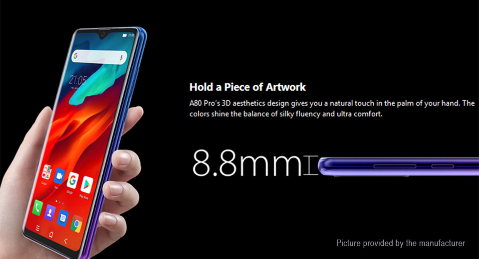 "Authentic Blackview A80 Pro 6.49"" Octa-Core Pie LTE Smartphone (64GB/EU)"