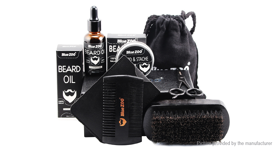 Product Image: blue-zoo-beard-care-styling-kit-7-pieces