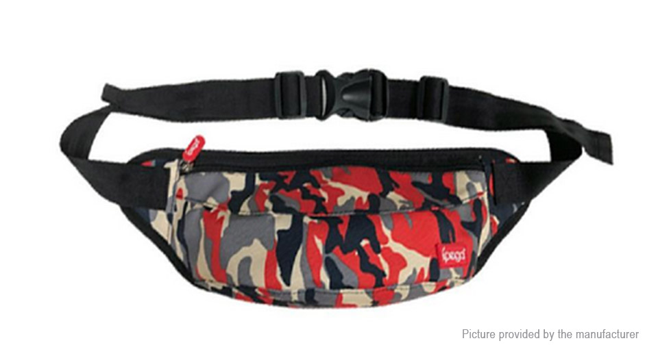 ipega Outdoor Portable Multifunctional Camouflage Waist Bag Shoulder Bag