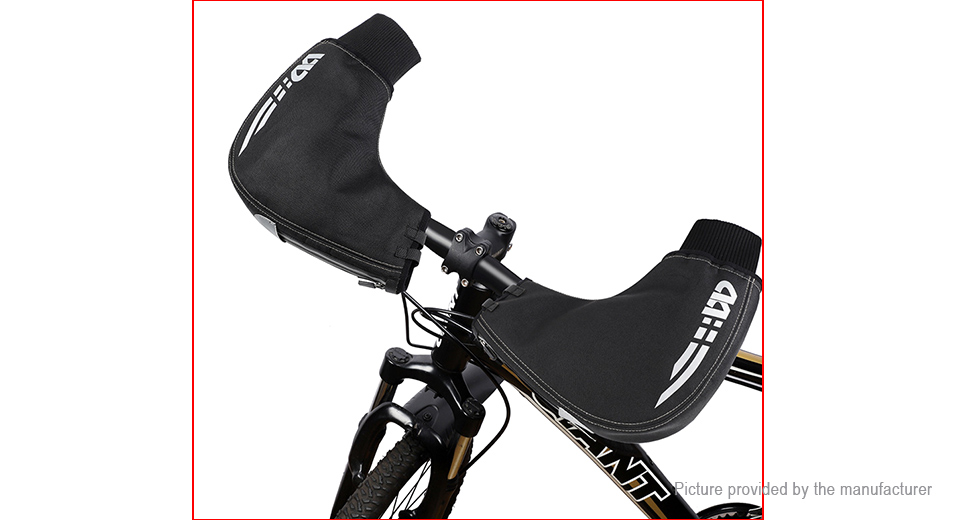 West Biking Winter Warm MTB Bike Bicycle Handlebar Mittens (Free Size/Pair)
