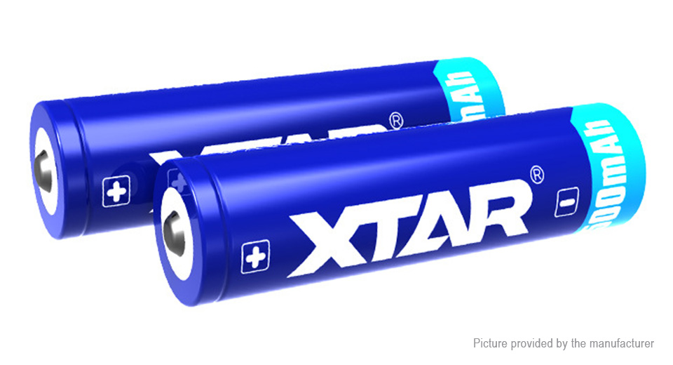 Authentic XTAR 18650 3.6V 3500mAh Rechargeable Li-ion Battery