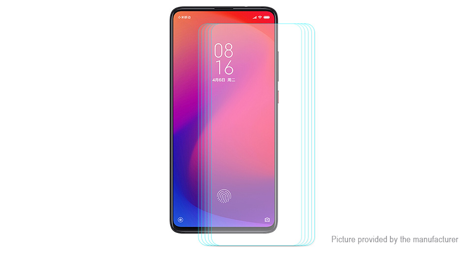 Hat.Prince 2.5D Tempered Glass Screen Protector for Xiaomi Mi 9T (5-Pack)