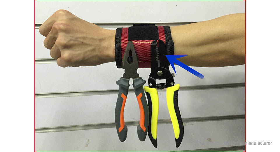 Strong Magnetic Screw Nut Nail Wristband Adjustable Tool