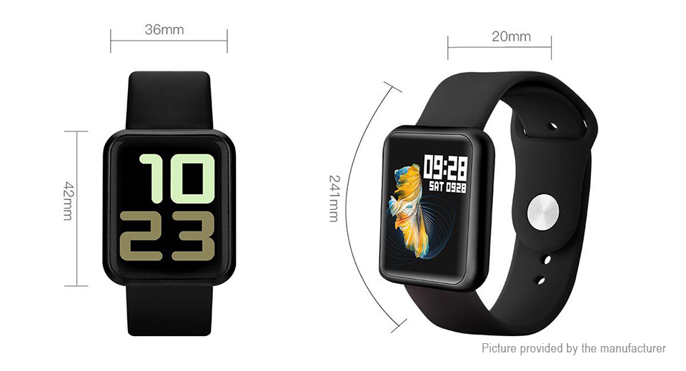 "P68S 1.3"" IPS Touch Screen Bluetooth V4.0 Smart Watch"