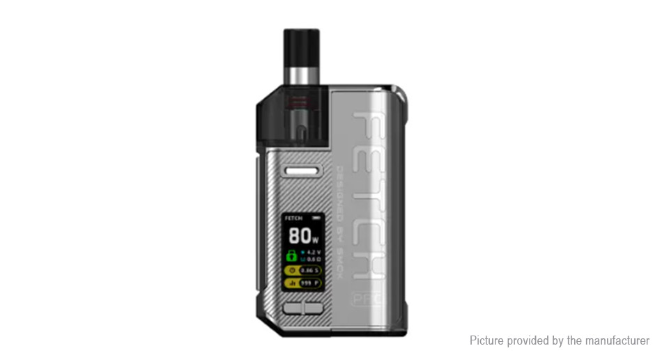 Smoktech Fetch Pro 80 watts : la Chine revient aux affaires 9720940-13
