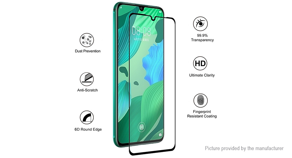 Hat.Prince 6D Tempered Glass Screen Protector for Huawei nova 5/5 Pro