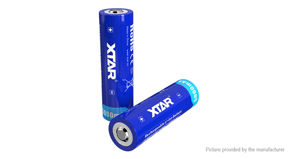 Authentic XTAR 21700 3.6V 5000mAh Rechargeable Li-ion Battery