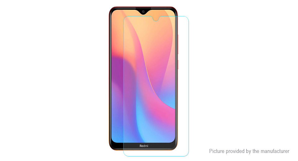 Hat.Prince 2.5D Tempered Glass Screen Protector for Xiaomi Redmi 8A