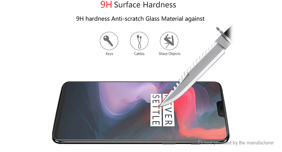 Hat.Prince 2.5D Tempered Glass Screen Protector for Xiaomi Redmi 8A (5-Pack)