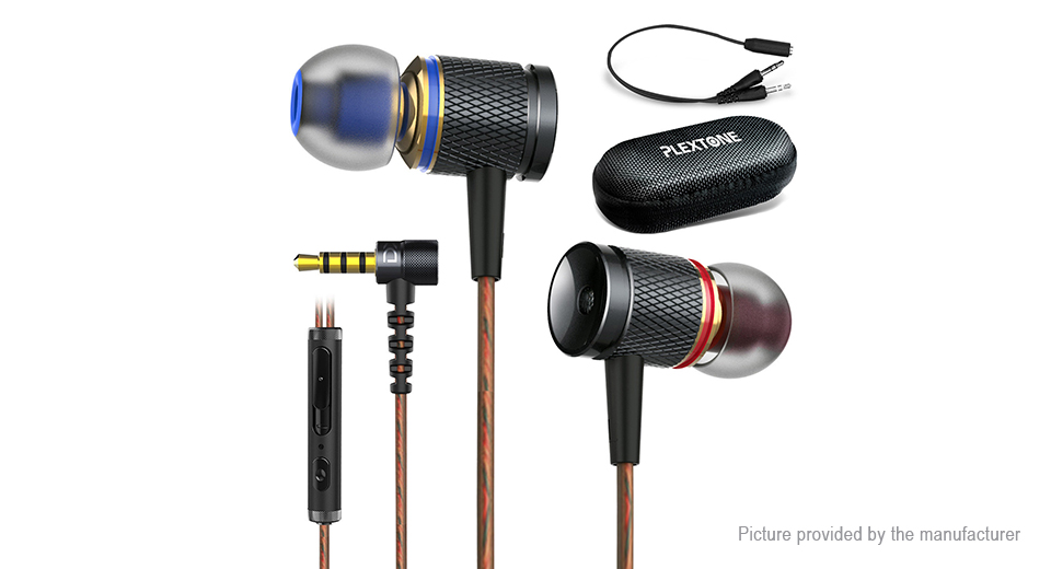 Product Image: plextone-dx2-3-5mm-wired-stereo-in-ear-earphones