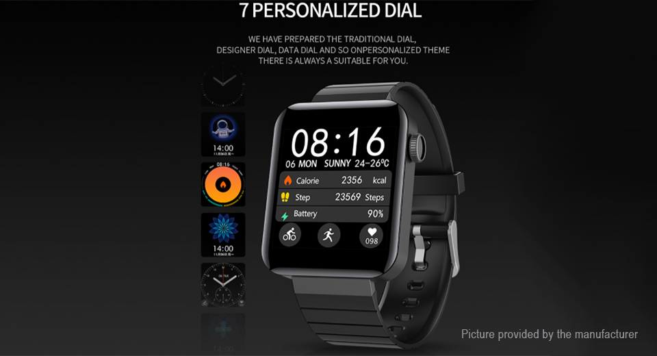 "M5 1.54"" IPS Touch Screen Sports Bluetooth V4.0 Smart Watch"