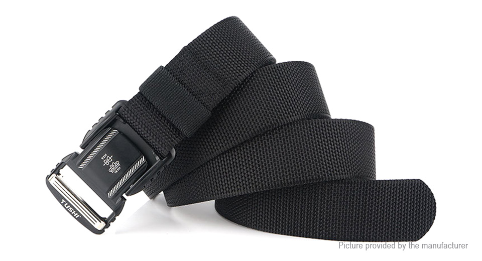 TUSHI Outdoor Tactical Casual Nylon Waist Belt Strap Waistband