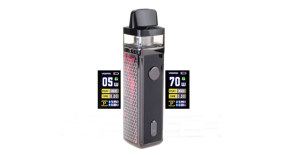 Authentic VOOPOO VINCI 40W 1500mAh VW Pod System Starter Kit (5 Coil Version)