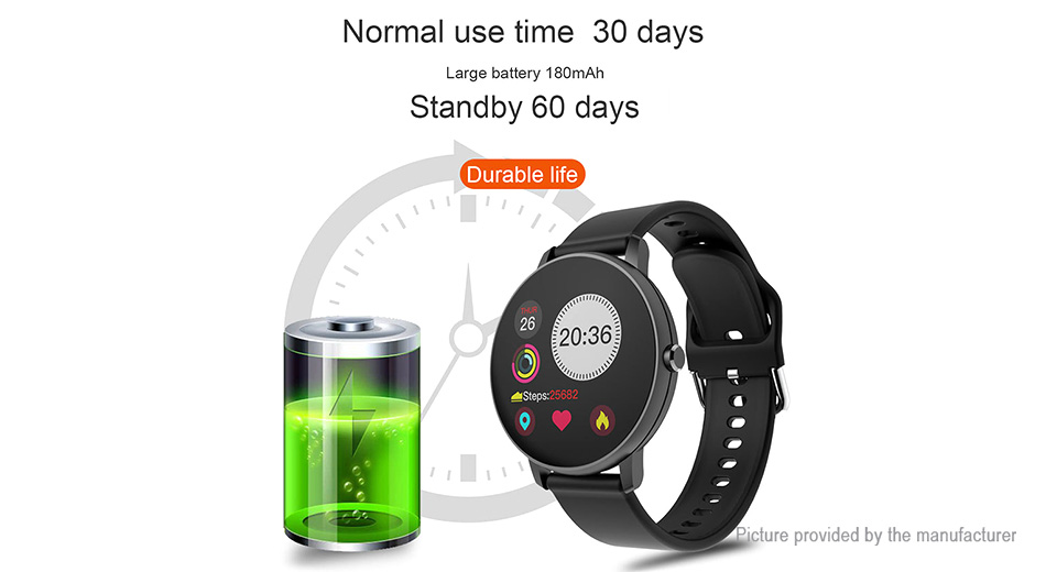 "P8 1.3"" IPS Touch Screen Bluetooth V4.0 Smart Watch"