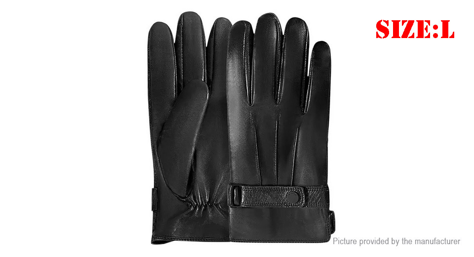 Authentic Xiaomi QIMIAN Men's Spanish Lambskin All Touch Screen Gloves