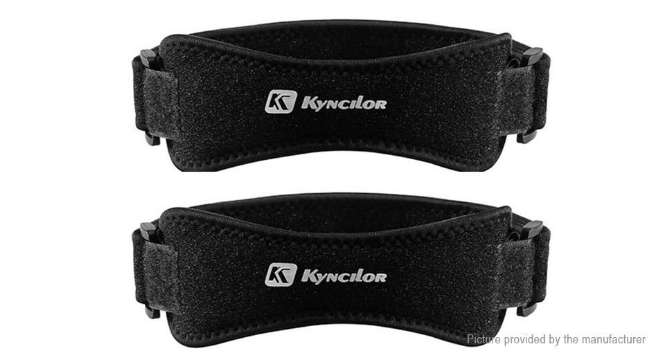 Kyncilor Polyester Sports Knee Pad Support Brace Protective Gear (Pair)
