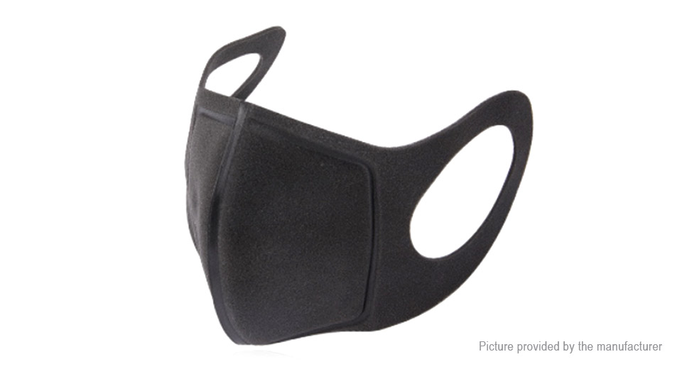 2-Layer Thickened KN95 Respirator Protective Face Mask