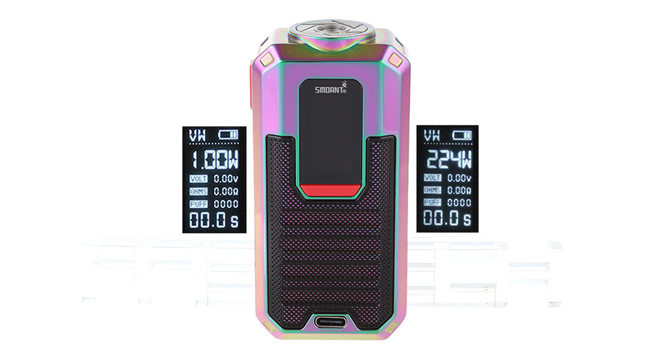Product Image: authentic-smoant-ladon-225w-tc-vw-apv-box-mod