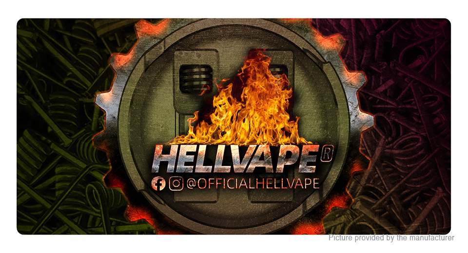 Authentic Hellvape Nylon Mouse Pad Mat