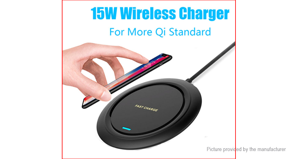 Q18 15W Qi Inductive Wireless Charger Pad