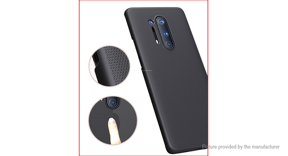 Nillkin Frosted Shield PC Protective Back Case Cover for OnePlus 8 Pro