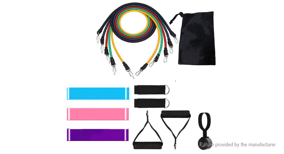 Product Image: home-gym-exercise-tool-fitness-resistance-band-set