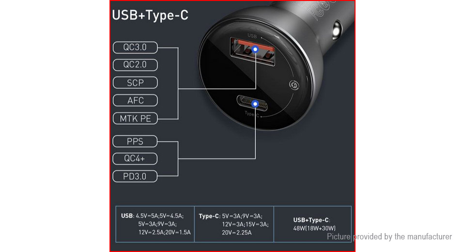 Authentic Baseus Car Cigarette Lighter Charger Power Adapter