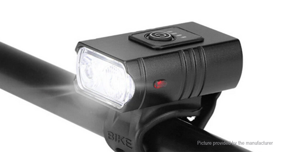 Micro-USB Rechargeable Bike Bicycle LED Front Light