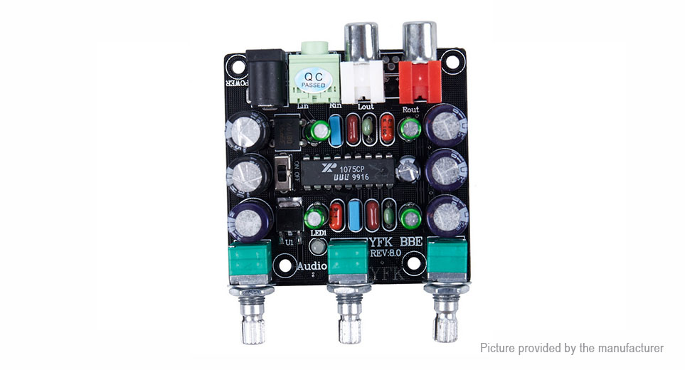 XR1075 Actuator Sound Exciter High Resolution Single Power Supply w/ BBE Circuit Module