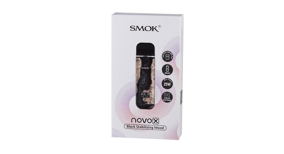 Authentic Smoktech SMOK Novo X 25W 800mAh VW Pod System Starter Kit