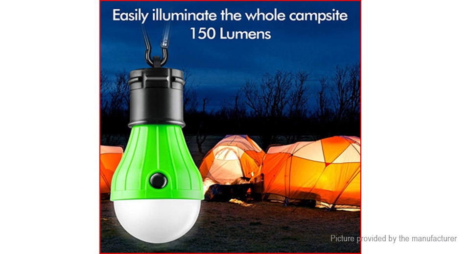 5PCS Outdoor Portable Hanging LED Camping Tent Light Bulb