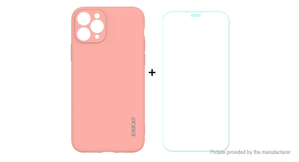 ENKAY ENK-PC0382 Simple Series TPU Protective Case Cover for iPhone 11 Pro
