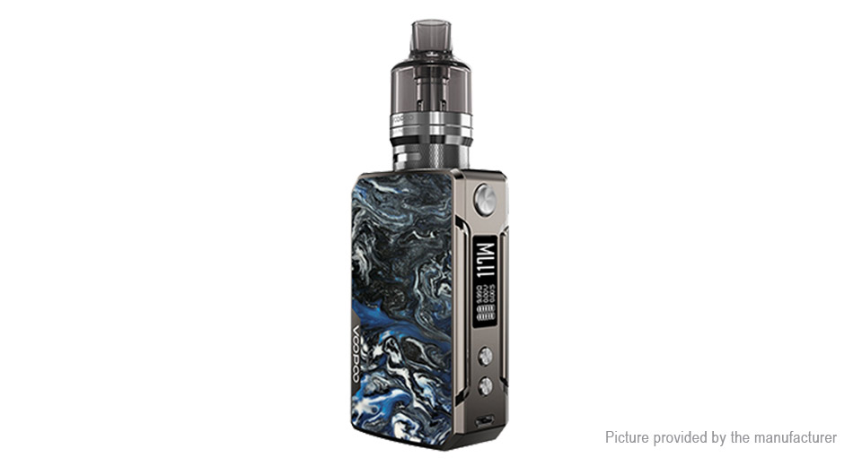 Authentic VOOPOO DRAG Mini 117W TC VW Pod System Mod Kit (Platinum Refresh Edition)