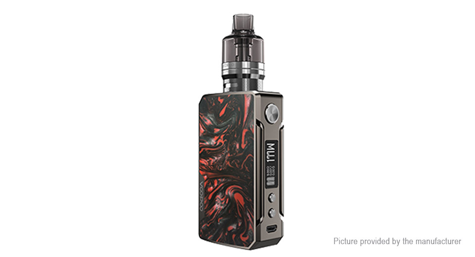 Authentic VOOPOO DRAG 2 177W TC VW Pod System Mod Kit (Platinum Refresh Edition)