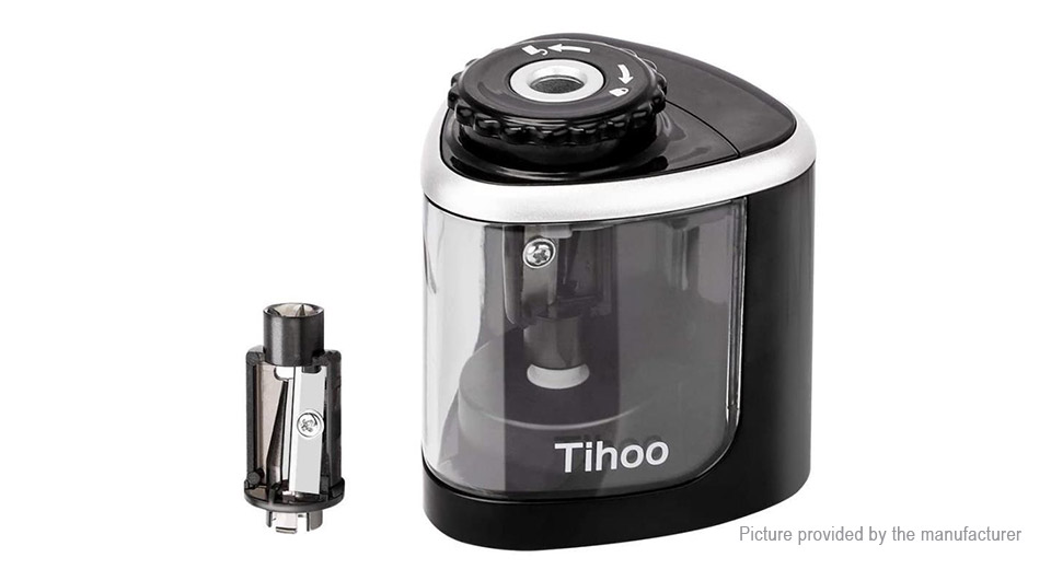 Tihoo TC8005 Battery Powered Electric Automatic Pencil Sharpener
