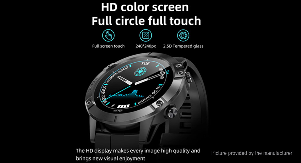 T11 1.3'' Touch Screen Bluetooth V4.0 Smart Watch