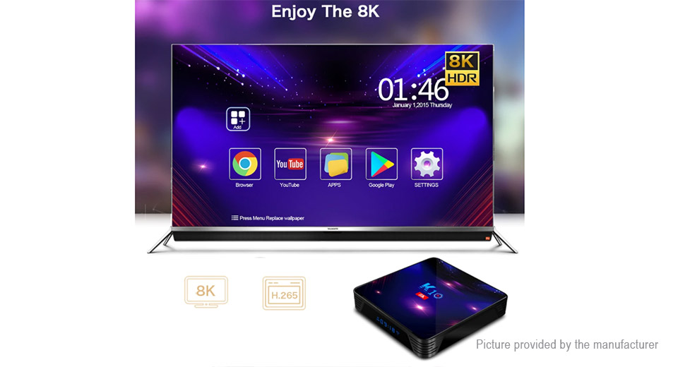 K10 Quad-Core Pie TV Box (64GB/US)