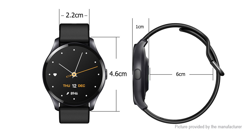 T88 1.28'' TFT Touch Screen Bluetooth V4.2 Smart Watch